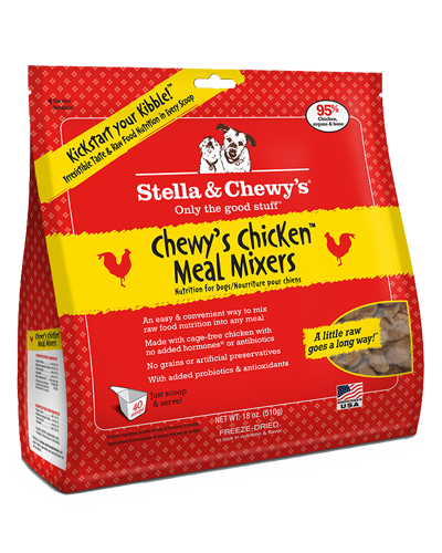 Picture of Stella & Chewy's Chewy's Chicken Freeze Dried Grain Free Meal Mixers - 18 oz.
