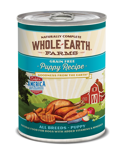 Picture of Merrick Whole Earth Farms Grain Free Puppy Formula with Chicken - 12.7 oz.