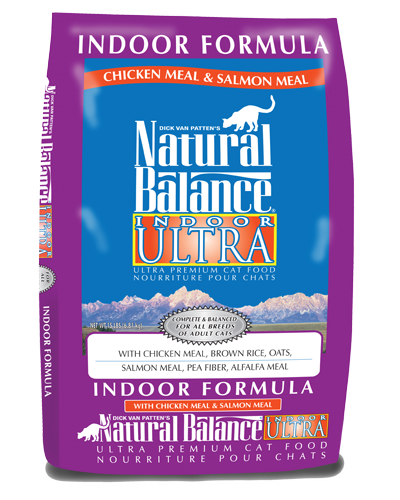 Picture of Natural Balance Indoor Ultra Chicken and Salmon Meal Formula - 15 lb.