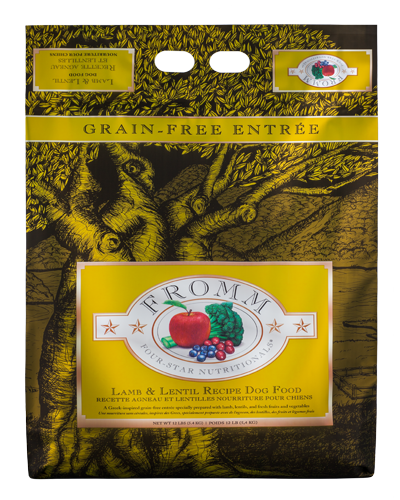 Picture of Fromm Four Star Grain Free Lamb and Lentils Recipe Entrée - 12 lb.