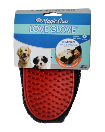 Picture of Four Paws Magic Coat Love Glove Grooming Mitt