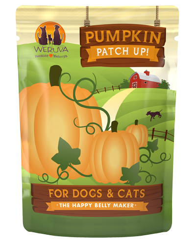 Picture of Weruva Grain Free Pumpkin Patch Up! Pumpkin Supplement for Dogs and Cats - 1.05 oz.