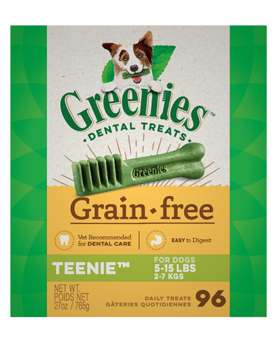 Picture of Greenies Grain Free Teenie Dog Dental Treats - 27 oz.