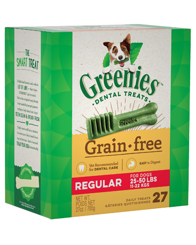 Picture of Greenies Grain Free Regular Dental Treats - 27 oz.