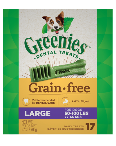 Picture of Greenies Grain Free Large Dental Treats - 27 oz.