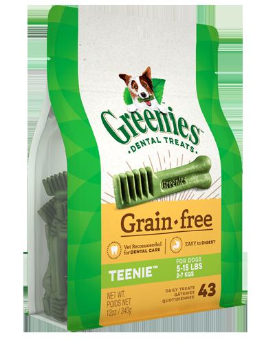 Picture of Greenies Grain Free Teenie Dog Dental Treats - 12 oz.
