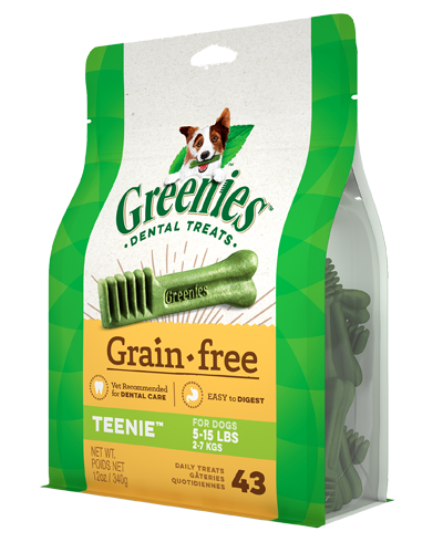 Picture of Greenies Grain Free Petite Dog Dental Treats - 12 oz.