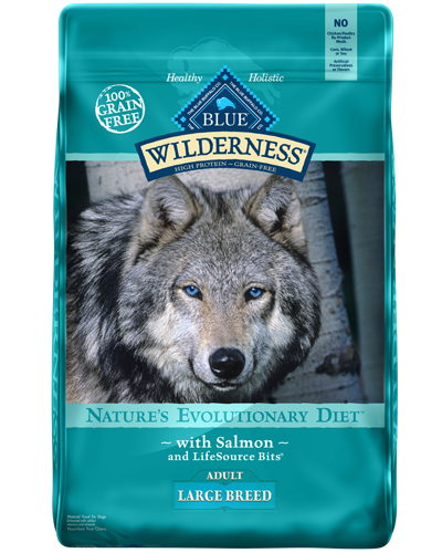 Picture of Blue Buffalo Wilderness Grain Free Salmon for Large Breeds - 24 lb.
