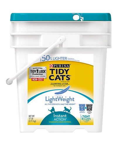 Picture of Purina Tidy Cats Lightweight Instant Action Cat Litter - 17 lb.