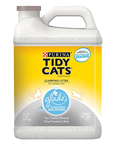 Picture of Purina Tidy Cats Glade Tough Odor Solutions Cat Litter - 20 lb.
