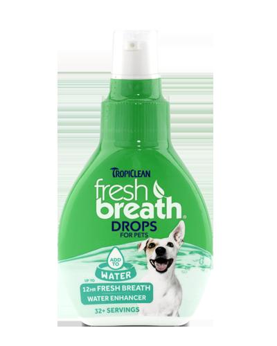 Picture of Tropiclean Fresh Breath Drops - 2.2 oz