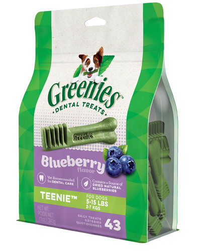 Picture of Greenies Blueberry Teeny Dog Dental Treats - 12 oz.