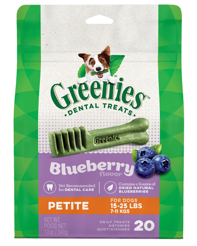 Picture of Greenies Blueberry Petite Dog Dental Treats - 12 oz.
