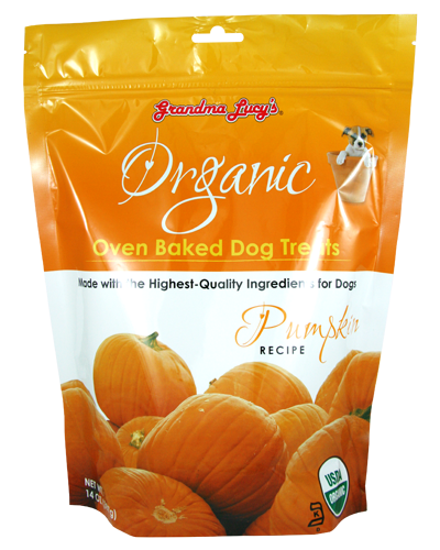 Picture of Grandma Lucy's Organic Oven-Baked Pumpkin Treats - 14 oz.