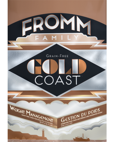 Picture of Fromm Gold Coast Grain Free Weight Management Formula with Whitefish - 12 lb.