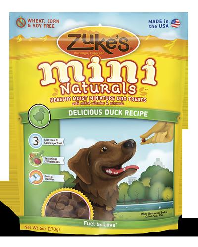 Picture of Zuke's Mini Naturals Duck Recipe - 6 oz.