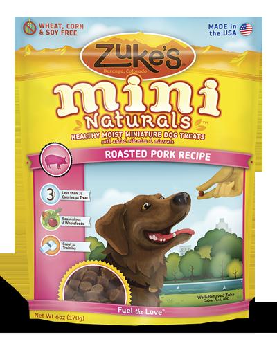 Picture of Zuke's Mini Naturals Pork Recipe - 6 oz.