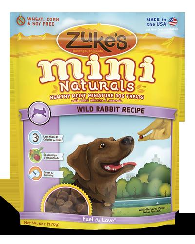 Picture of Zuke's Mini Naturals Rabbit Recipe - 6 oz.
