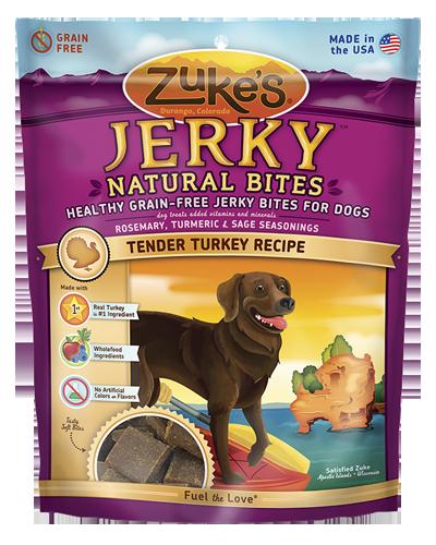 Picture of Zuke's Natural Bites Turkey Recipe Jerky - 6 oz.