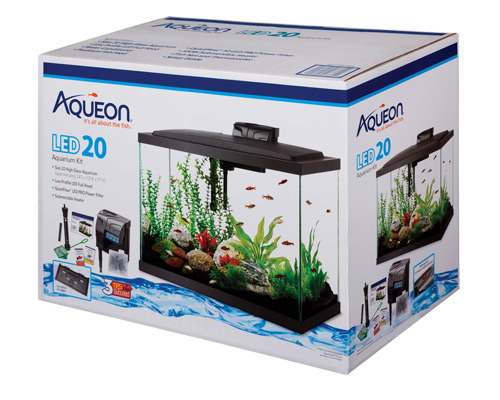 Picture of Aqueon Boxed LED Rectangle Kit - 20 Gallon High