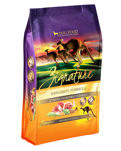 Picture of Zignature Grain Free Limited Ingredient Kangaroo Formula - 4 lbs.
