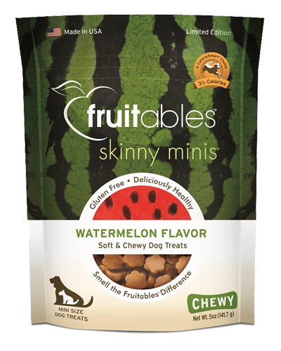 Picture of Fruitables Skinny Minis Watermelon Flavor Soft and Chewy Treats - 5 oz.