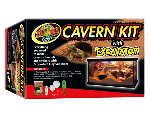 Picture of ZooMed Cavern Kit with Excavator Substrate