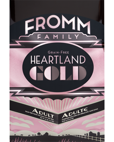 Picture of Fromm Gold Heartland Grain Free Adult Formula with Red Meat - 26 lb.