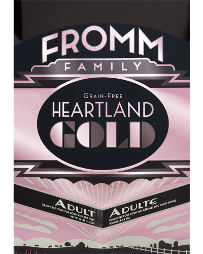 Picture of Fromm Gold Heartland Grain Free Adult Formula with Red Meat - 12 lb.