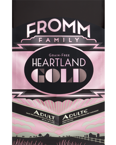 Picture of Fromm Gold Heartland Grain Free Adult Formula with Red Meat - 4 lb.
