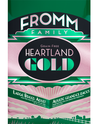 Picture of Fromm Gold Heartland Grain Free Adult Large Breed Formula with Red Meat - 26 lb.