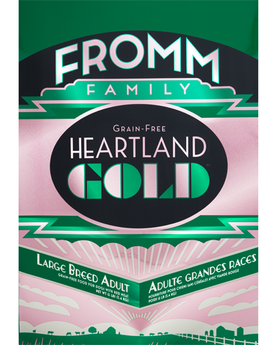 Picture of Fromm Gold Heartland Grain Free Adult Large Breed Formula with Red Meat - 12 lb.