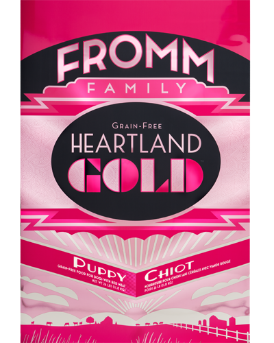 Picture of Fromm Gold Heartland Grain Free Puppy Formula with Red Meat - 26 lb.