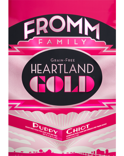 Picture of Fromm Gold Heartland Grain Free Puppy Formula with Red Meat - 12 lb.