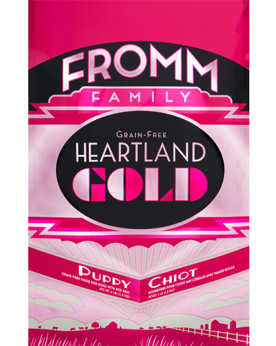 Picture of Fromm Gold Heartland Grain Free Puppy Formula with Red Meat - 4 lb.