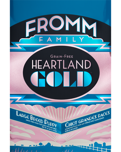 Picture of Fromm Gold Heartland Grain Free Puppy Large Breed Formula with Red Meat - 26 lb.