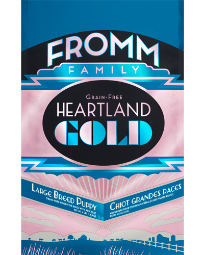 Picture of Fromm Gold Heartland Grain Free Puppy Large Breed Formula with Red Meat - 12 lb.