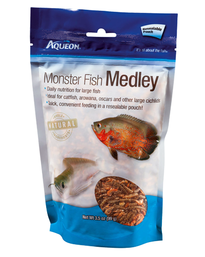 Picture of Aqueon Monster Fish Medley 3.5 oz.