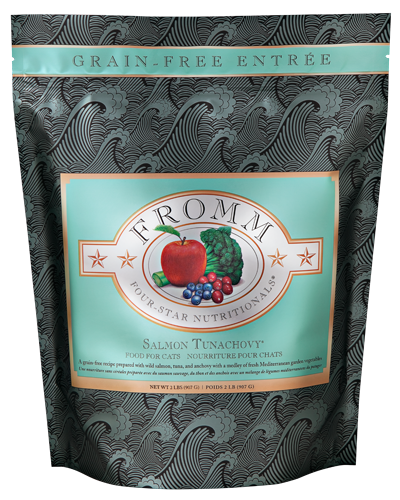 Picture of Fromm Four Star Grain Free Salmon Tunachovy Entrée - 2 lb.