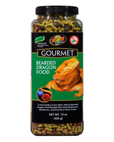 Picture of ZooMed Labs Gourmet Bearded Dragon Food - 15 oz.