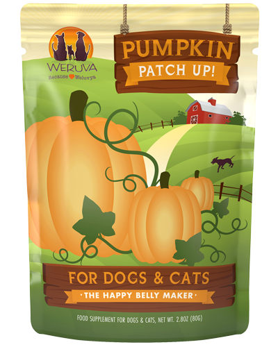 Picture of Weruva Grain Free Pouch Pumpkin Patch Up! Pumpkin Supplement for Dogs & Cats - 2.8 oz.