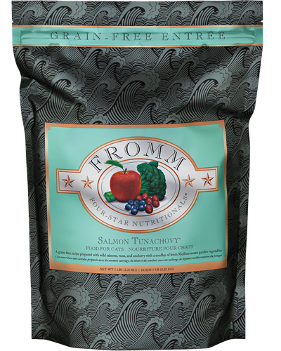 Picture of Fromm Four Star Grain Free Salmon Tunachovy Entrée - 5 lb.