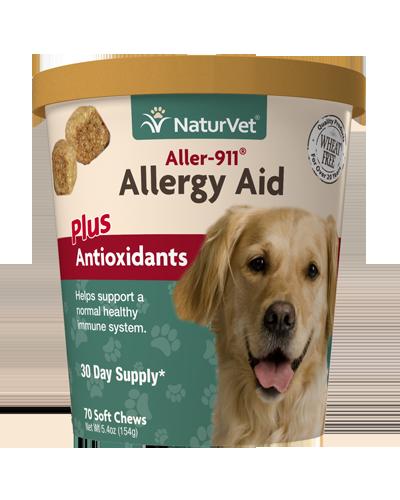 Picture of NaturVet Aller-911 Allergy Aid Plus Antioxidants Soft Chews - 70 Ct