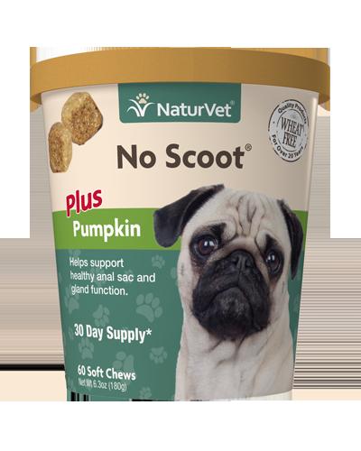 Picture of NaturVet No Scoot Plus Pumpkin Soft Chews - 60 Ct