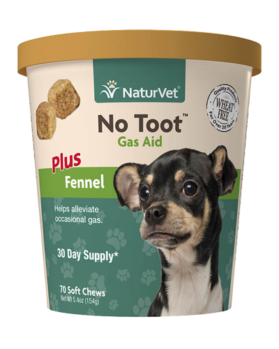Picture of NaturVet No Toot Gas Aid - 70 Ct