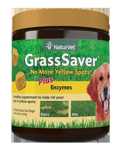 Picture of NaturVet GrassSaver Plus Enzmes - 120 Ct