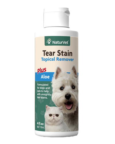 Picture of NaturVet Tear Stain Remover - 4 oz