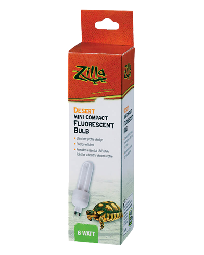 Picture of Zilla Mini Compact Fluorescent Desert G9 Bulb - 6 Watt