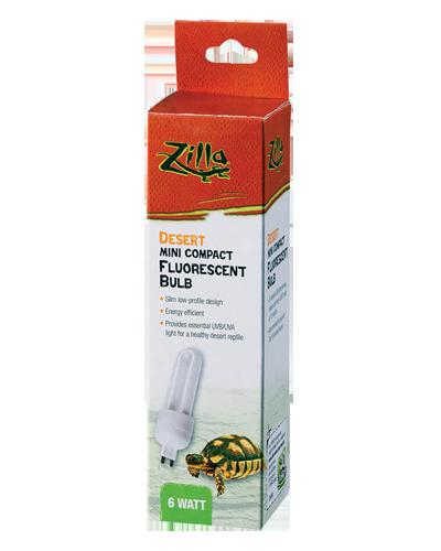 Picture of Zilla Mini Compact Fluorescent Desert G9 Bulb - 6 Watt