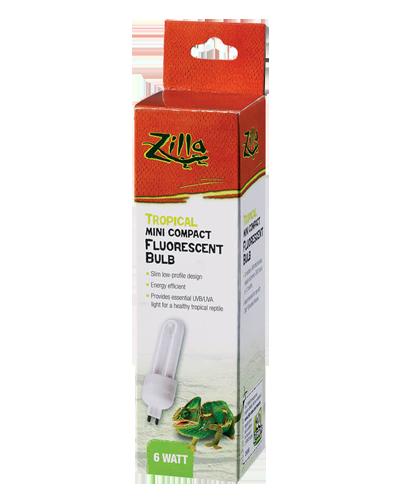 Picture of Zilla Mini Compact Fluorescent Tropical G9 Bulb - 6 Watt